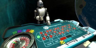 Table roulette microgaming réalité virtuelle