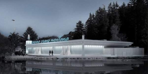 Casino de Crans Montana en Suisse