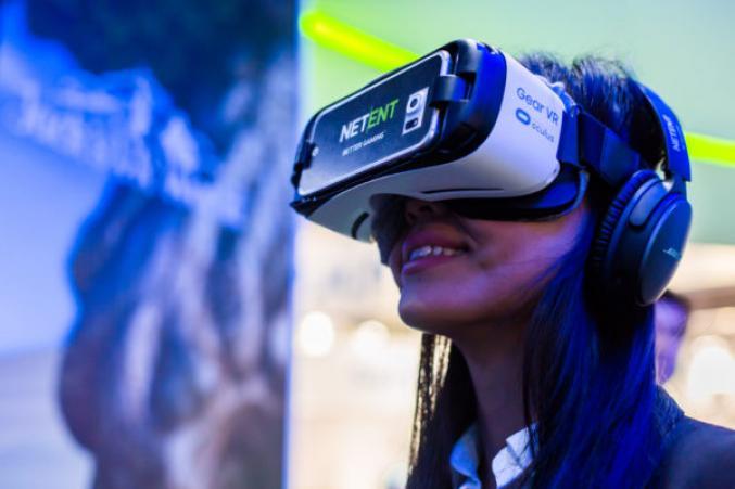 NetEnt gear Vr casque réalité virtuelle